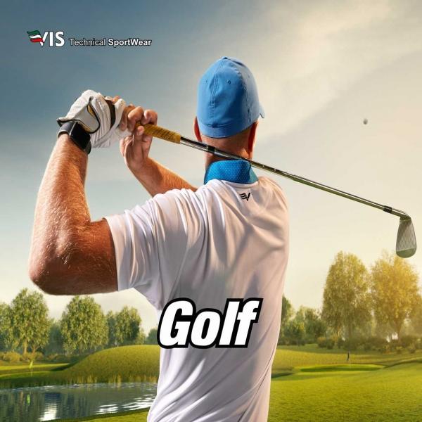 Kundenspezifische Sportbekleidung für Golf