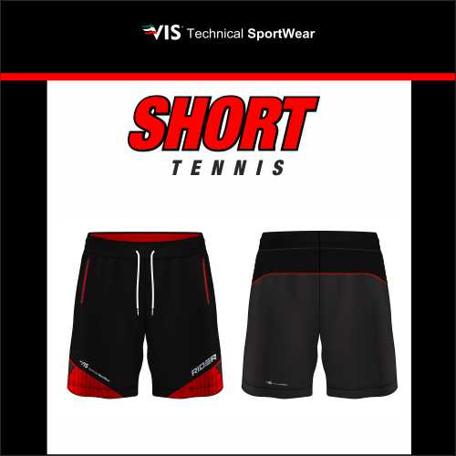 MASSGESCHNEIDERTE TENNIS-SHORTS